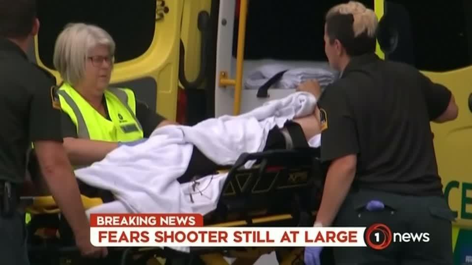 Gunman streams New Zealand shootings, kills 49