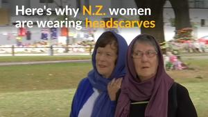 New Zealand women don headscarves in solidarity with Muslims