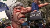 Hundreds of thousands of anti-Brexit protesters march in London