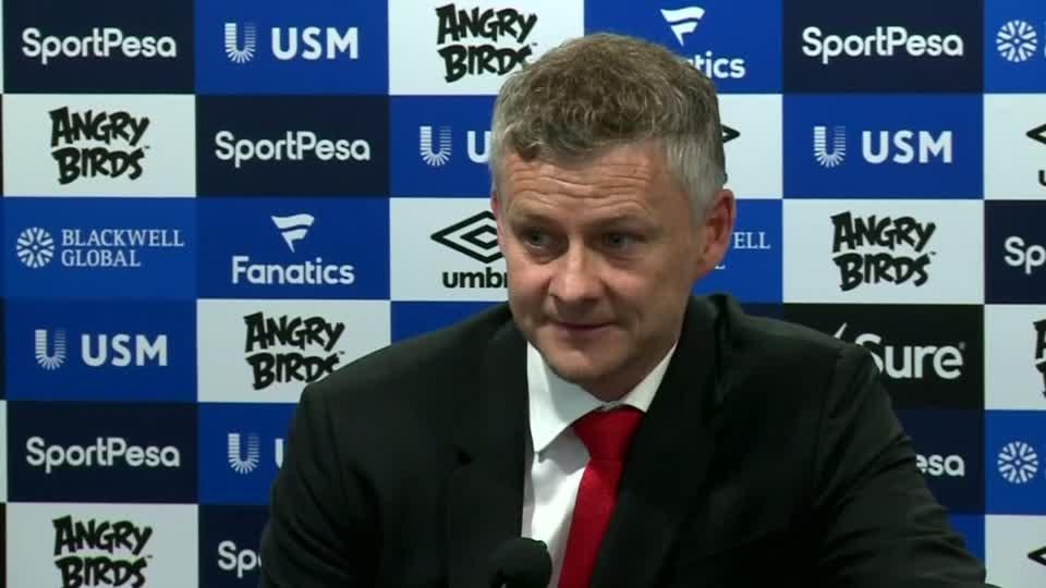 """Loss to Everton """"difficult to describe because it's so bad"""" - Solskjaer"""