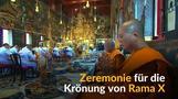 Thailand: Zeremonie für die Krönung des neuen Königs