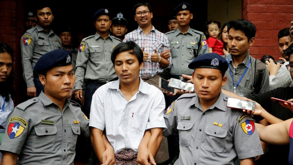 Myanmar court rejects Reuters reporters' appeal