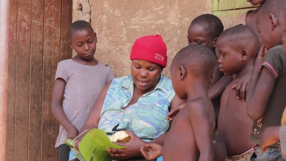 Ugandan mum struggles to raise 38 children