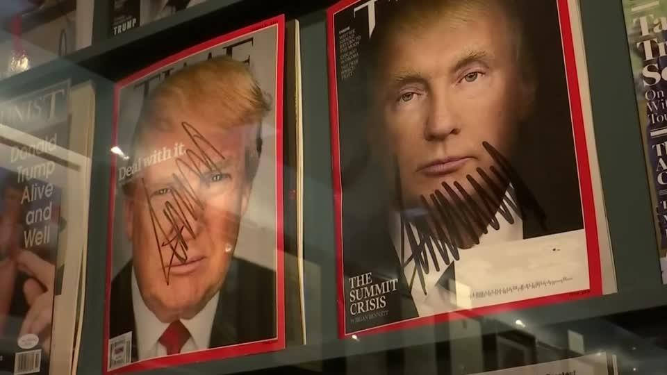 'All things Trump' exhibit opens in New York