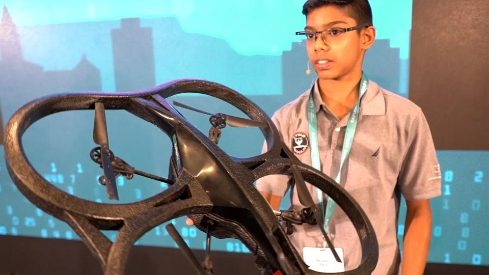 Teenager hacks drone to prove cyber attack risk