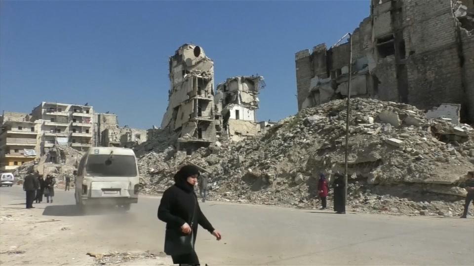 シリア内戦9年目に、復興遠いアレッポの現在(字幕・8日)