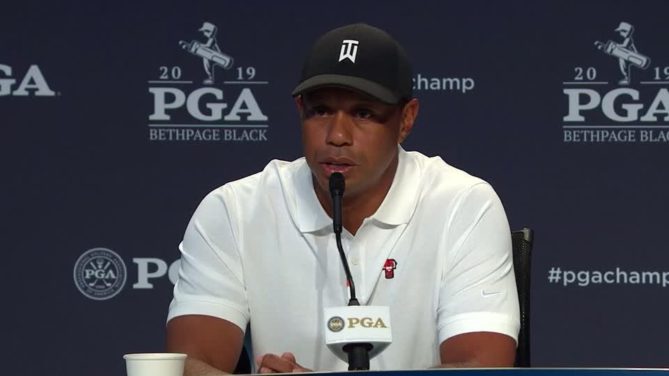 Tiger 'rested and ready' heading into PGA Championship