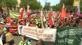 Thousands gather across Germany showing love for EU ahead of elections