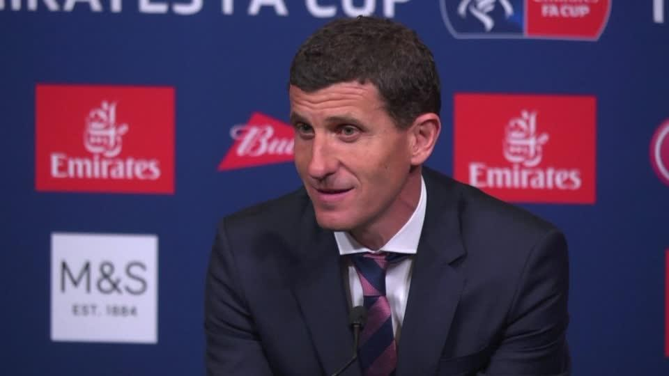 Garcia proud of squad despite losing FA Cup to Man City