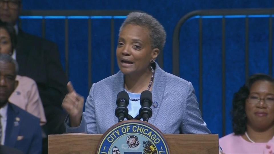 Chicago's first gay, black female mayor is sworn in