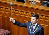 Zelenskiy's first act as Ukraine's new president