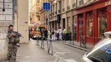 Rescuers, police survey scene of Lyon explosion that injured at least 8
