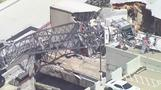 Crane collapses on Dallas apartment building