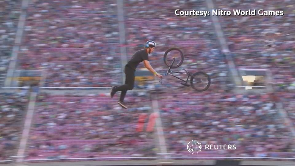 Extreme sports competition goes global