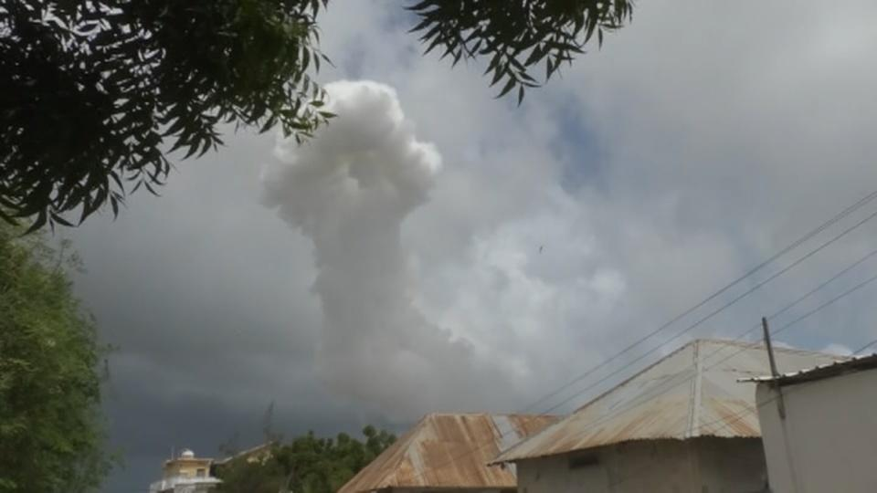 Blasts kills eight people and injures 16 in Somali capital