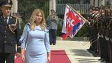 Anti-graft crusader sworn in as Slovakia's first female president