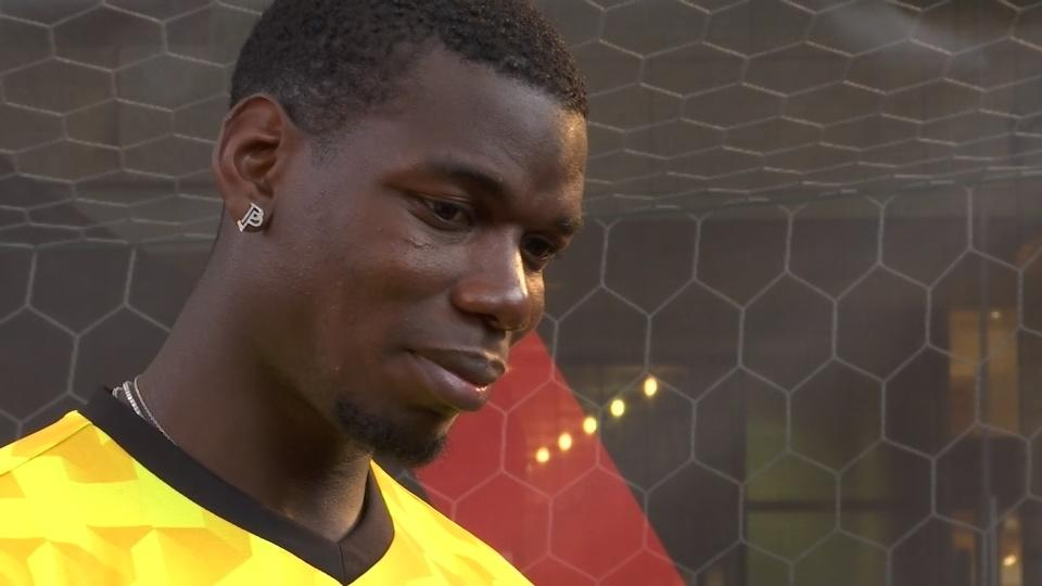 """""""A good time for a new challenge"""", says Pogba"""