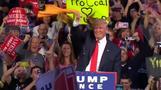 トランプ大統領、立候補表明 激戦州で巻き返しなるか(字幕・18日)
