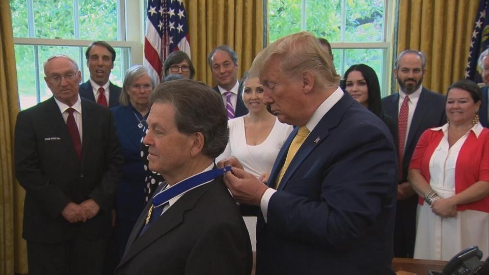 Trump awards Medal of Freedom to economist Arthur Laffer