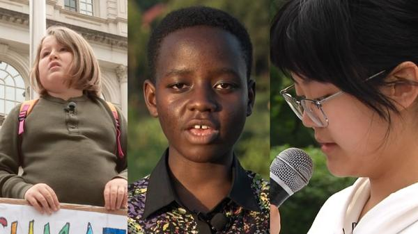 The global climate kids fighting for their future