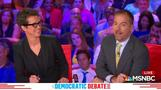 Technical issue interrupts Democratic debate
