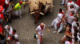 INSIGHT: Spills and thrills in Spain's bull run