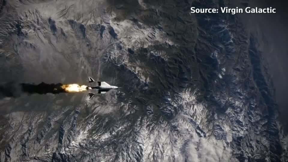 Virgin Galactic blasts off for New York share listing