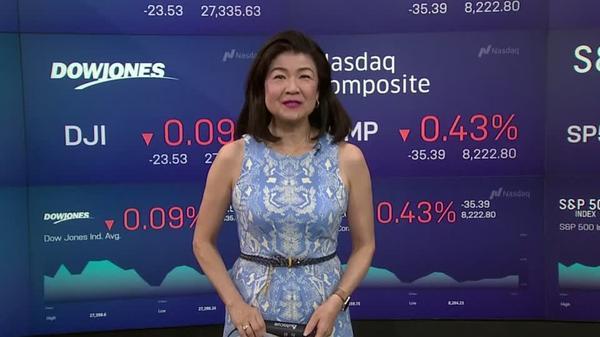 NY株、反落、銀行業績や貿易巡る懸念が圧迫(16日)