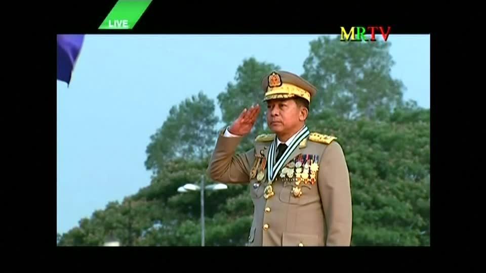 U.S. slaps sanctions on Myanmar's army chief