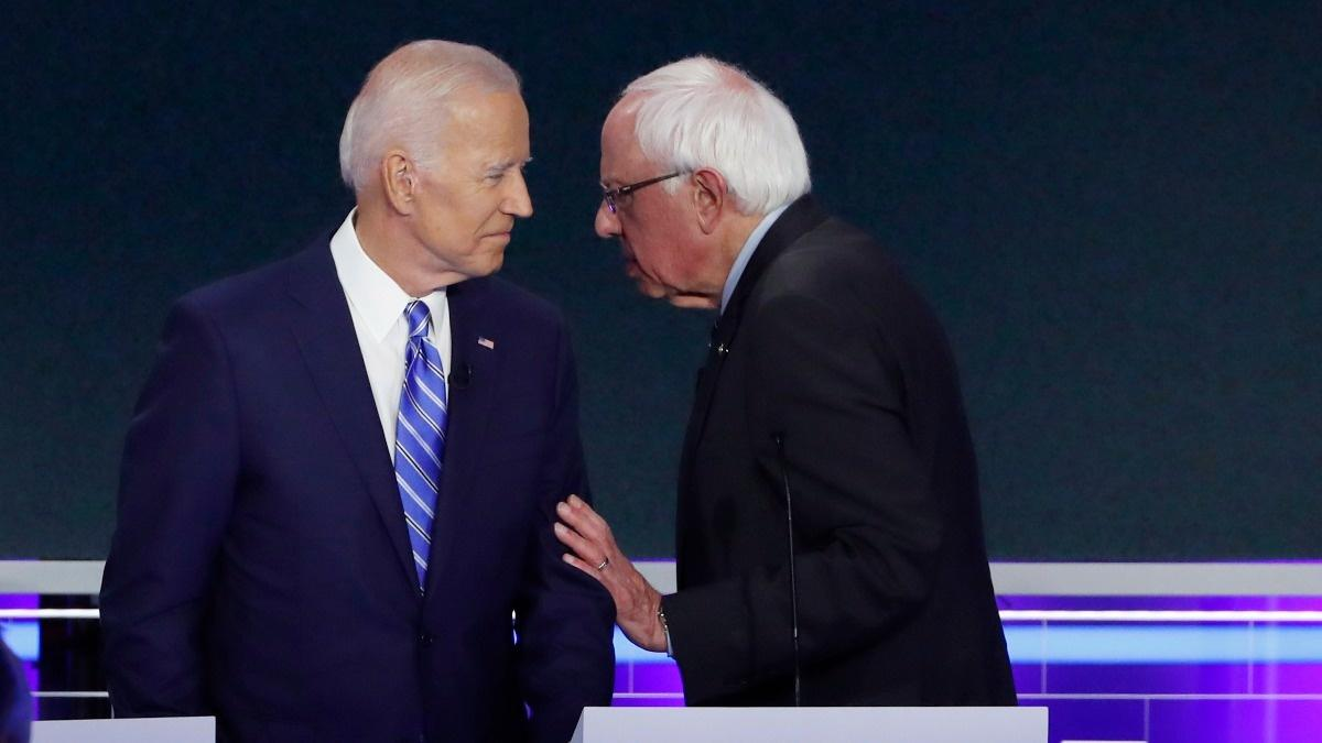 Sanders, Biden clash over remedy for healthcare