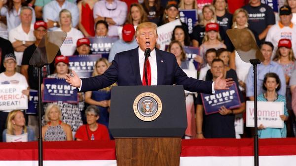 Democratic candidates decry Trump's attacks