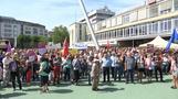 Tausende protestieren gegen rechte Demo in Kassel