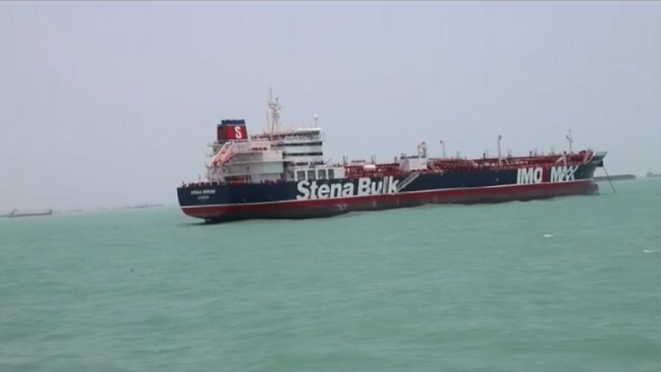 Iran warns UK against escalating tensions, says crew of seized ship safe