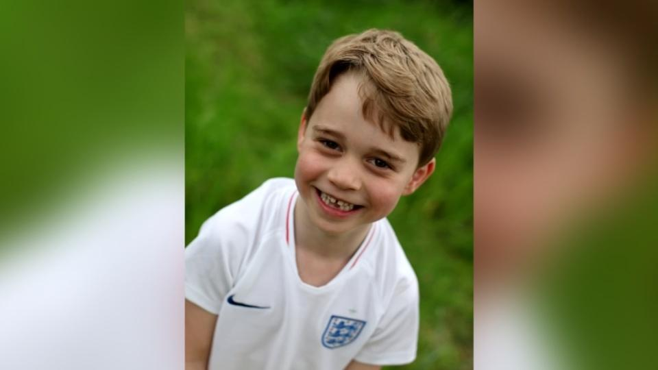 Britain's beaming Prince George celebrates sixth birthday