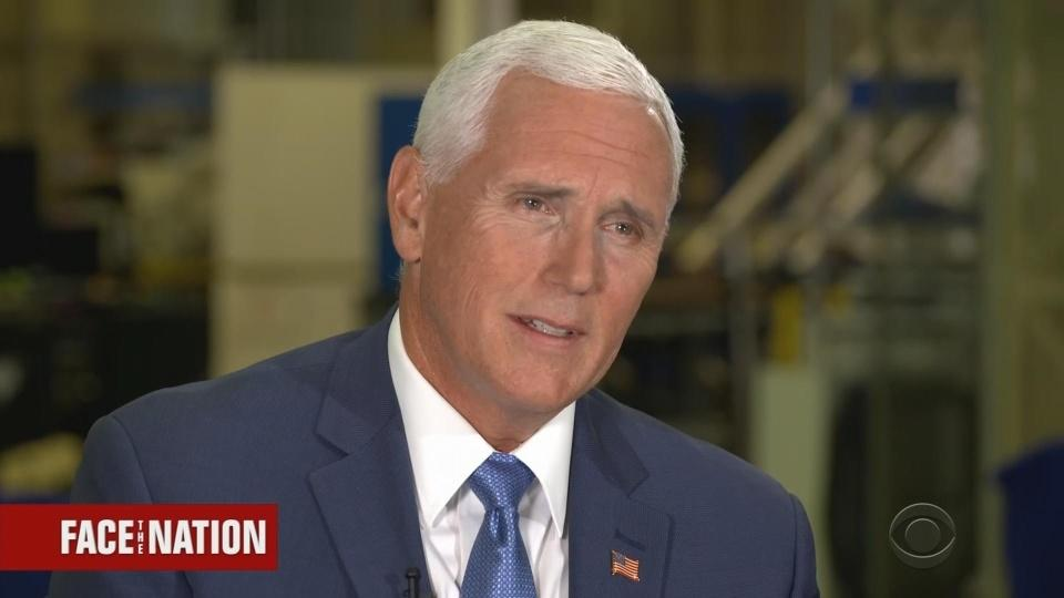 Trump might try to stop future 'send her back' chants: Pence