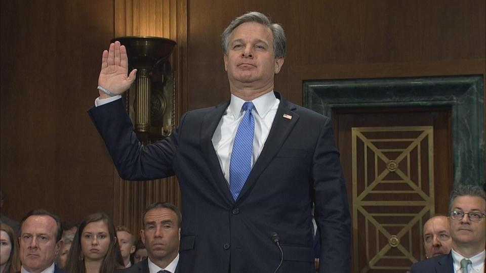 Wray: Russia 'absolutely' intent on interfering with elections