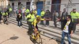 Hero's welcome for Colombia's Tour de France winner