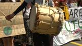 Youth bang the drum of climate change in Switzerland