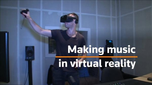 Virtual beats: Making music with VR