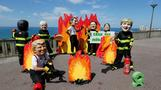 Oxfam protests on eve of G7 Summit meeting