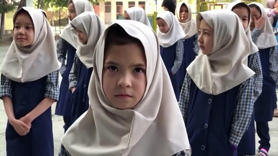 Some Afghan girls return to school in Kabul