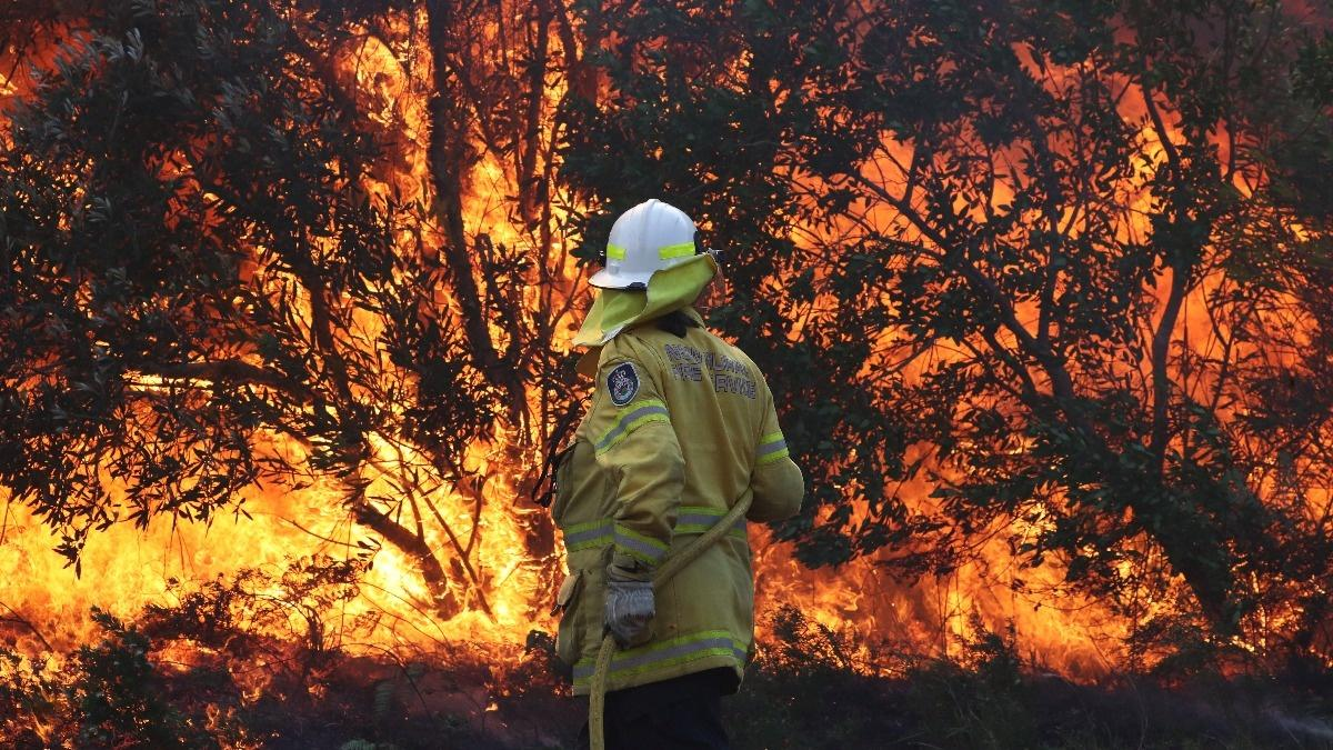 12-year-old questioned over Australia bushfires