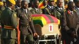 Mugabe's burial place a mystery as body arrives in Zimbabwe