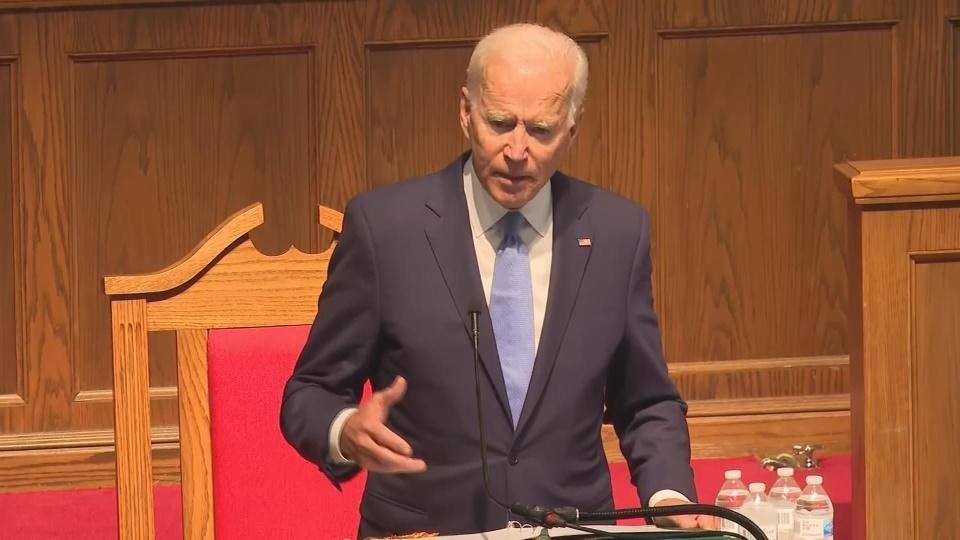 """The original sin of slavery"" Biden on race"