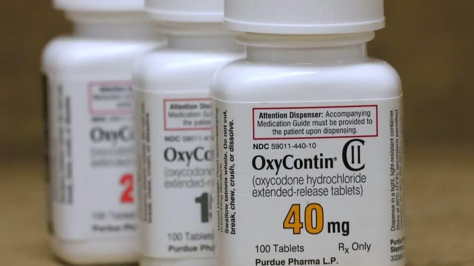 OxyContin maker files for bankruptcy