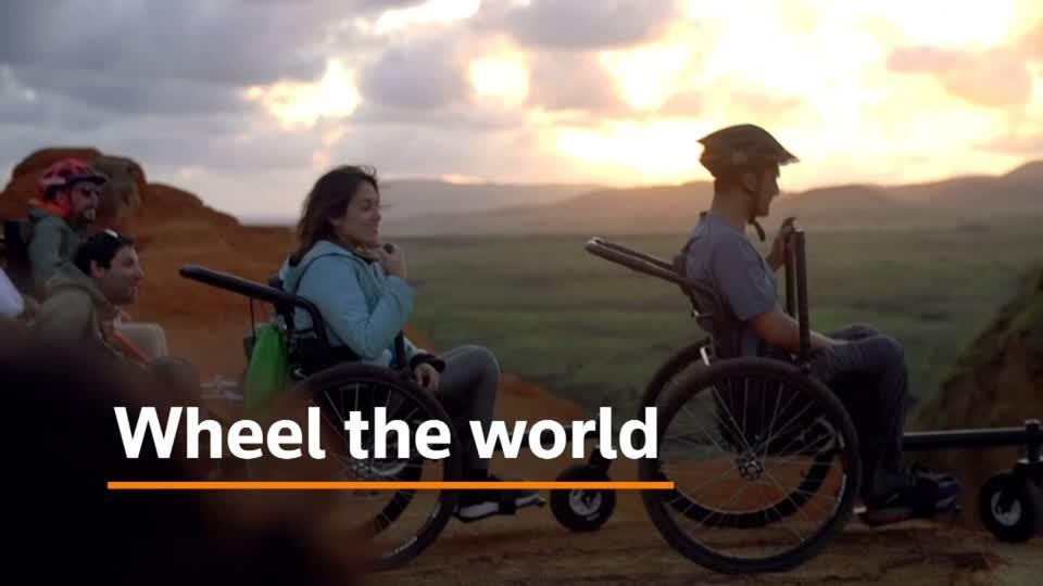 'Wheel the World' startup broadens horizons for disabled
