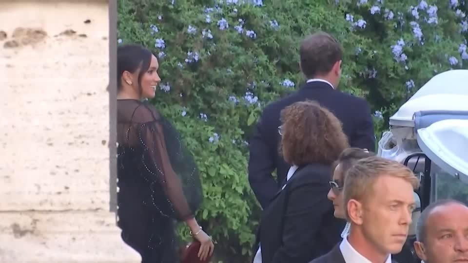 Royals, Ivanka arrive for A-list wedding in Rome