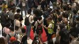 Hong Kong protesters trample and burn Chinese flag