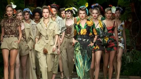 Dolce & Gabbana take Milan fashionistas on jungle trek