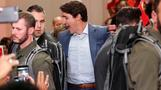 Trudeau forges on with campaign despite security threat